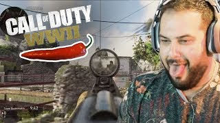 Call of Duty WW2 Beta • HOT PEPPER CHALLENGE