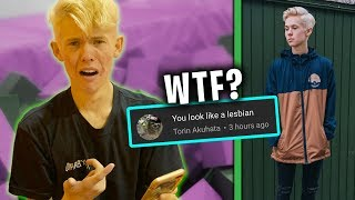 READING MEAN COMMENTS ABOUT MY NEW HAIR!