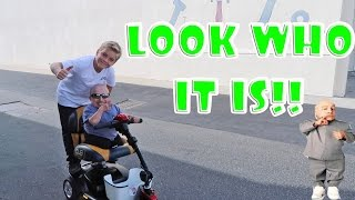 """MINI ME"" (VERNE TROYER) ON HOVERBOARD & SCOOTERS!"