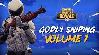 Godly Sniping - Volume 1 - Fortnite Battle Royale Highlights - Ninja