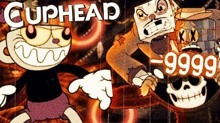 ALL BOSSES FEAR THESE HACKS !! | Cuphead END [Bendy-like Cartoon Game] +Hacking