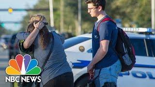 Broward County Authorities Hold Briefing On Florida School Shooting   NBC News