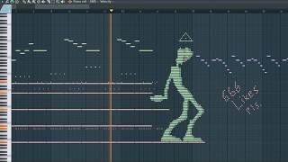 What Green Alien Sounds Like - MIDI Art