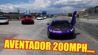 Testing the TOP SPEED of my Lamborghini Aventador!