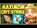 STOP PLAYING TEEMO WRONG! MAX CRIT STRIK...mp3
