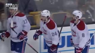 Phillip Danault 2-0 Goal - Canadiens @ Bruins - 10.22.2016 - HD