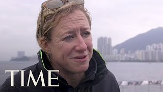 Annie Lush Talks About Needing More Women In Sailing During The Volvo Ocean Race   TIME