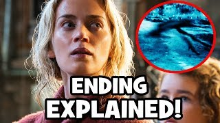 A Quiet Place ENDING & CREATURES Explained