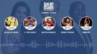 UNDISPUTED Audio Podcast (2.13.18) with Skip Bayless, Shannon Sharpe, Joy Taylor | UNDISPUTED