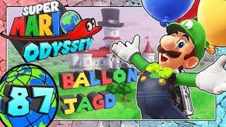 SUPER MARIO ODYSSEY Part 87: Luigis Ballon-Jagd im Pilz-Königreich & das Musiker-Outfit