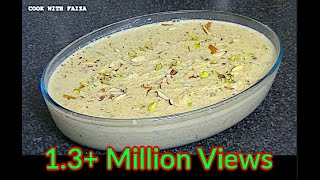 APPLE KI KHEER *COOK WITH FAIZA*
