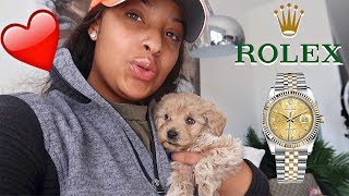 I HAD THE BEST BIRTHDAY EVER! HE BOUGHT ME A DOG, ROLEX AND YACHT!! VLOGMAS DAY 1