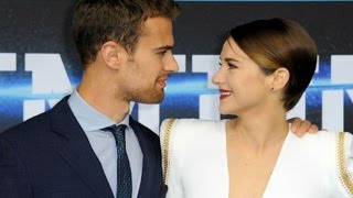 Shailene Woodley & Theo James / Best cute moments HD