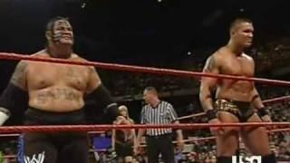 Triple H vs. Randy Orton & Umaga (1/2)