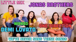HARMONIZING CHALLENGE - Little Mix, Demi Lovato, Jonas Brothers, 1D