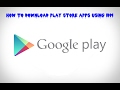 How To Download Android Apps .Apk On PC ...mp3