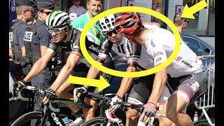 Tour De France Stage 17 Matthews Butch Slapped By Degenkolb?
