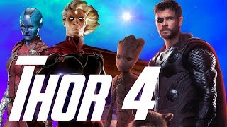 Thor 4 Set Up in Guardians of the Galaxy 3 or The Eternals After Avengers 4?