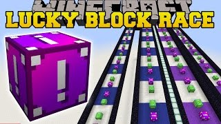 Minecraft: EXTREME DELTA LUCKY BLOCK RACE - Lucky Block Mod - Modded Mini-Game