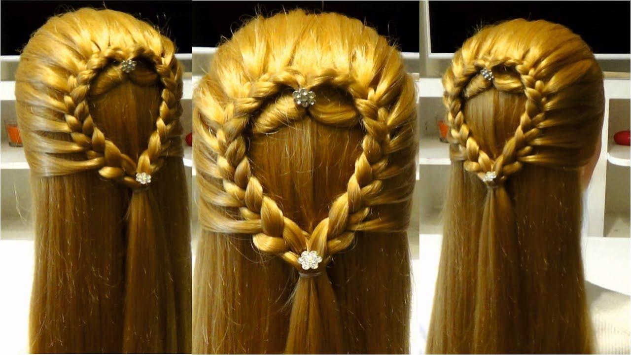 Прически на средние волосы в школу косы