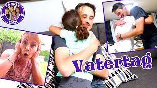 DAS VERRÜCKTE HUHN AM VATERTAG |  Vlog #86 Our life FAMILY FUN