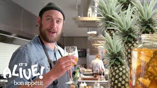 Brad Makes a Fermented Mexican Pineapple Drink (Tepache) | It