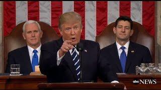 President Trump Full Speech to Congress   ABC News
