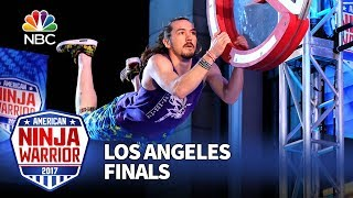 Nick Hanson at the Los Angeles City Finals - American Ninja Warrior 2017