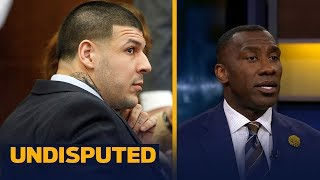 Aaron Hernandez was found to have a severe form of CTE - Skip and Shannon react | UNDISPUTED