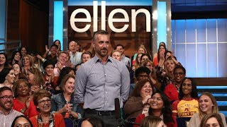 Ellen Checks Out Her Audience Members