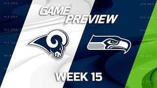 Los Angeles Rams vs. Seattle Seahawks | NFL Week 15 Game Preview | MTS