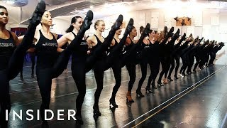 What It Takes To Be A Rockette In Radio City