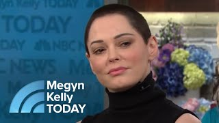 Rose McGowan On Harvey Weinstein: 'I Don't Ever Want To See Him Again' | Megyn Kelly TODAY