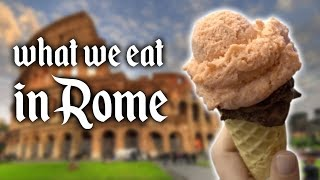 WHAT WE EAT IN ROME