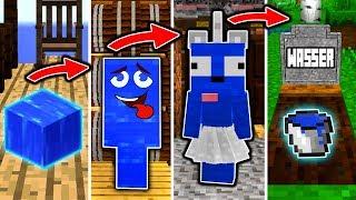 WASSER LEBENSZYKLUS in Minecraft! - Vom EIMER zum BÖSEWICHT!