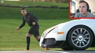 Cristiano Ronaldo vs Bugatti Veyron (WETTRENNEN)