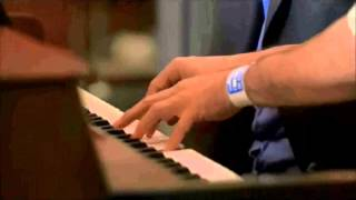 House M.D - House playing piano with patient