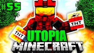 ER ist SPRENGSTOFF EXPERTE?! - Minecraft Utopia #055 [Deutsch/HD]