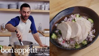 Andy Makes Confetti Rice with Chicken | Bon Appétit