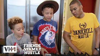 T.I. Busts Domani, King, & Messiah For Losing Major Harris | T.I. & Tiny: The Family Hustle