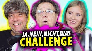 DUMME JA/NEIN/NICHT/WAS CHALLENGE - mit Oma & Papa