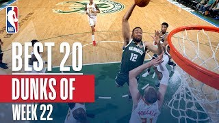Best 20 Dunks From Week 22 of the NBA Season (LeBron, Dennis Smith Jr and More!)