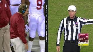 Alabama vs Mississippi State, 2017 (in under 35 minutes)