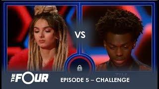 Zhavia vs Tim: The Most INTENSE Battle Of The Season - Do Not BLINK!  | S1E5 | The Four