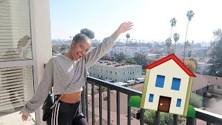 MY FIRST EMPTY APARTMENT TOUR!! I MOVED TO LA!!