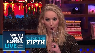 Can Jennifer Lawrence Rank The Kardashians? | Plead The Fifth | WWHL