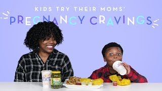 Kids Try Their Moms
