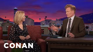 Lisa Kudrow Is Still Trying To Trace Conan