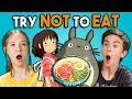 Try Not To Eat Challenge - Anime Food   ...