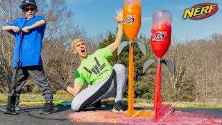 NERF SODA ROCKET MOD!! (EXPLODING NERF DART)